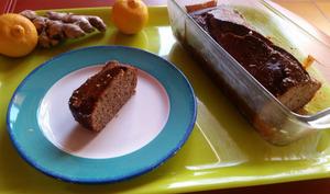 Cake citron gingembre