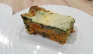Lasagnes végétariennes à la Courge, aux épinards et gorgonzola