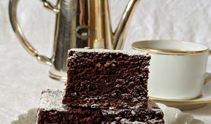 Gâteau au chocolat et cacao