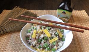 Chou-fleur façon riz cantonais