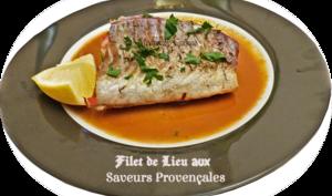 Filets de lieu aux saveurs provençales