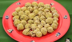 Energy balls carottes épicées pistaches
