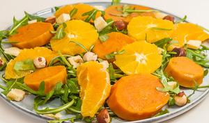 Salade de patates douces aux oranges