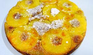 Moelleux à l'ananas à l'huile d'olive et au rhum