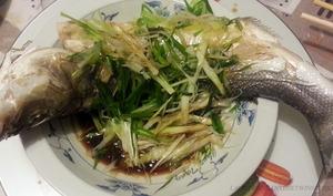 poisson vapeur à la cantonaise