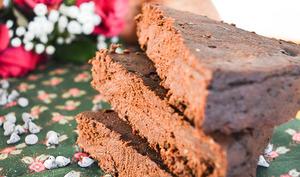 Gâteau chocolat noir et patate douce
