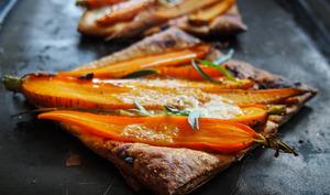 tarte à la carotte et au cumin
