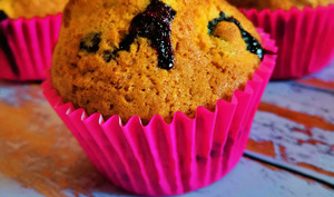 Muffins Américains à la myrtille
