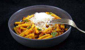 Pâtes aux saucisses italiennes