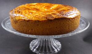 Gâteau breton aux pommes