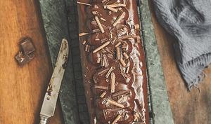 Cake au chocolat et gianduja