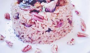 Risotto Veggie aux champignons et noix de pécan