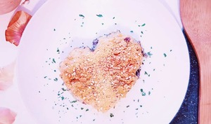Hachi Parmentier spécial Saint Valentin