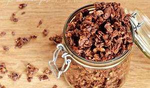 Granola chocolat, sarrasin