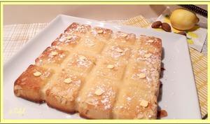Gâteau aux amandes et citron