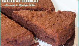 Gâteau au chocolat ultra simple