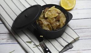 Boeuf mijoté au citron