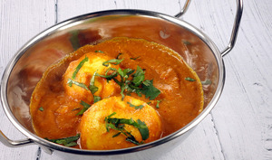 Oeufs curry