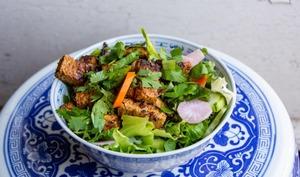 Tofu aux vermicelles de riz