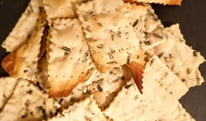 Crackers au surplus de levain