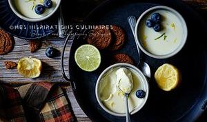 lemon Posset ou creme dessert anglaise
