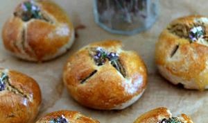 Petits pains à la fleur de thym