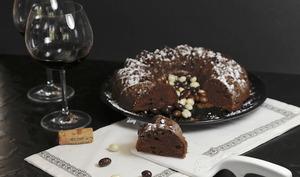 Gâteau au chocolat au vin rouge