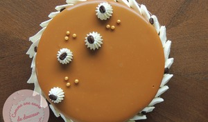 Tarte Entremets ~ Irish Coffee