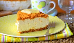 Cheese cake au citron et spéculos