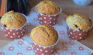 Muffins noix de coco chocolat