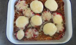 Pain de viande aux aubergines et au parmesan de Giada de Laurentiis