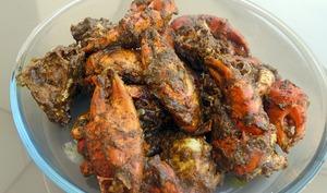 Crabe au poivre noir