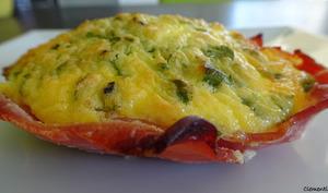 Tartelette aux œufs et au bacon de Donna Hay