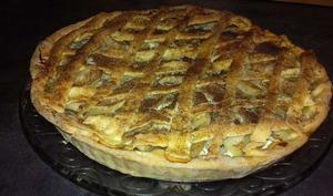Tarte alsacienne aux pommes et à la cannelle