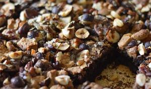 Le MEILLEUR brownie noix - chocolat dulcey