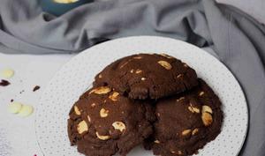 Cookies Cacaotés aux Pépites Blanches