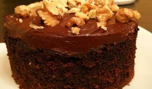 Gâteau neo-zélandais chocolat courgettes