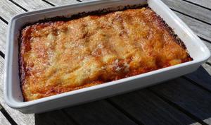Cannelloni à la viande hachée