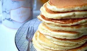 Pancakes fluffy au babeurre