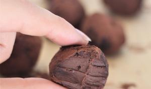 Truffes chocolat 3 ingrédients
