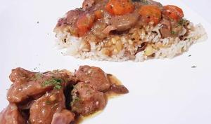 Blanquette de veau au Cookeo