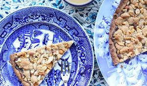Tarte-cookie rapide à la confiture