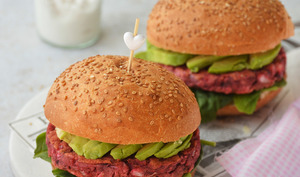 Burger veggie - steak de betterave