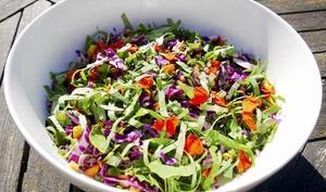 Salade alcaline aux 11 vitamines