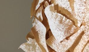 Croustillants de feuille de brick sucrés