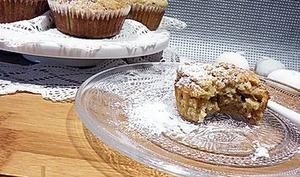 Muffins pommes yuzu céréales