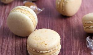 Macarons Noisette Caramel