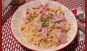 Coquillettes jambon au thermomix