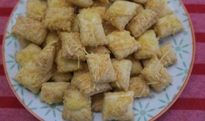 Crackers à l'emmental