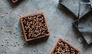 La tarte chocolat sarrasin
